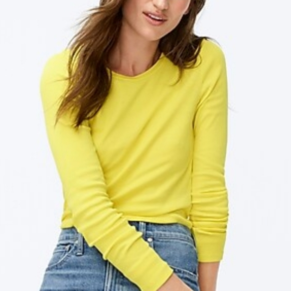 J. Crew Tops - J. Crew perfect fit long sleeved tee S